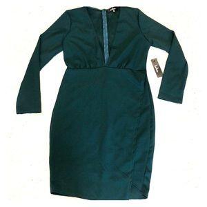 Lulu's Emerald Green Dress